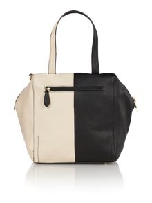 Asher monochrome large tote bag