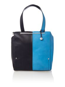 Asher multi coloured large tote bag