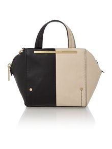 Asher monochrome mini tote bag