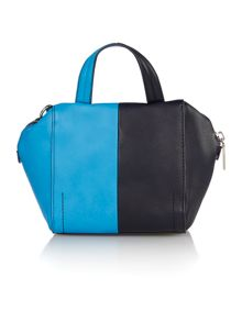 Asher multi coloured mini tote bag