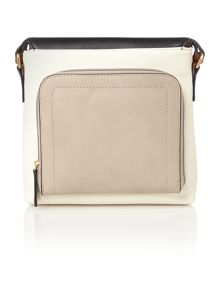 Carey multi coloured cross body bag