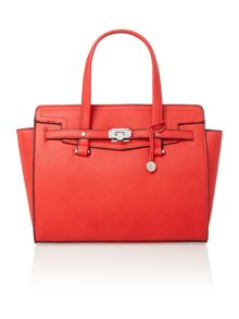 Luella red tote bag