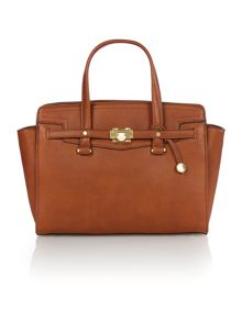 Luella tan tote bag