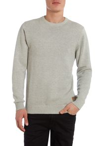 Mens Moss Striched Jumper