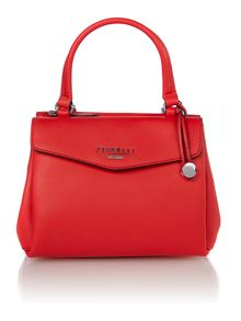Madison red mini tote bag