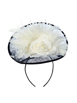 Victoria Flower And Feather Trim Saucer