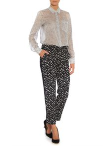 Sportmax Code Multiprint trousers