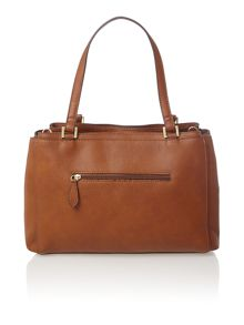 Sophia tan large shoulder tote bag