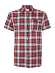 Check Short Sleeve Multi Classic Fit Shirt