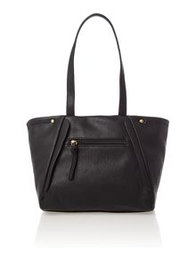 Sophia black medium shoulder tote bag