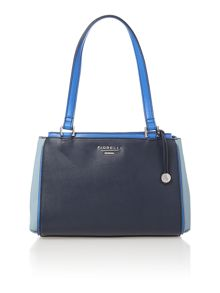 Sophia multi coloured shoulder tote bag