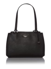 Sophia black shoulder tote bag