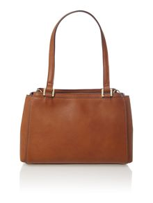 Sophia tan medium shoulder tote bag
