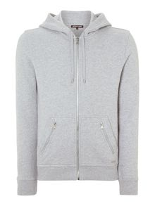 Zip Up Overdyded Hoody