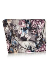 Winter Floral Envelope Clutch