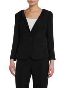 Armani Collezioni Sheer back tuxedo jacket