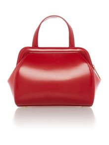 Paula red small cross body bag
