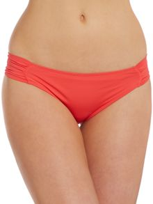 Marilyn ruched side bikini brief