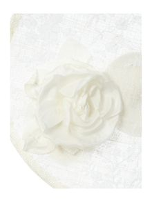Carrie Jenkinson Classy Christine Flower & Lace Trim Saucer