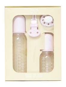 Babys Bottle And Dummy 4 Piece Set