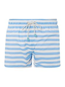 Oiler & Boiler Stripe Swim Short