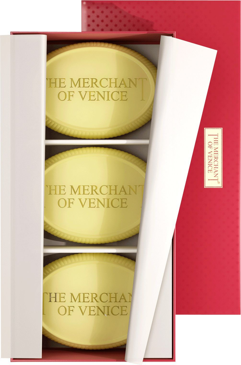 The Merchant Of Venice The Merchant Of Venice Set of Assorted Floral Bath Soaps 200g x 3