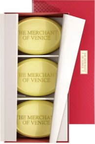The Merchant Of Venice Set of Assorted Floral Bath Soaps 200g x 3
