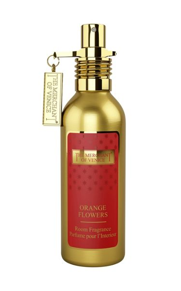 The Merchant Of Venice Orange Flowers Natural Home Spray 100ml