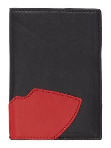 Abstract lips passport cover