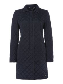 Bozen padded long coat
