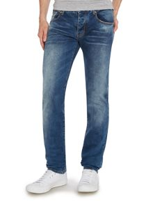 J28 Slim Fit Mid Wash Jean
