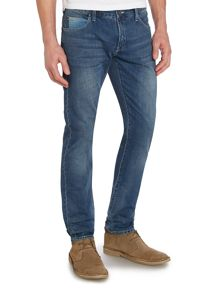 J10 Slim Fit Jean With Contrast Cuff