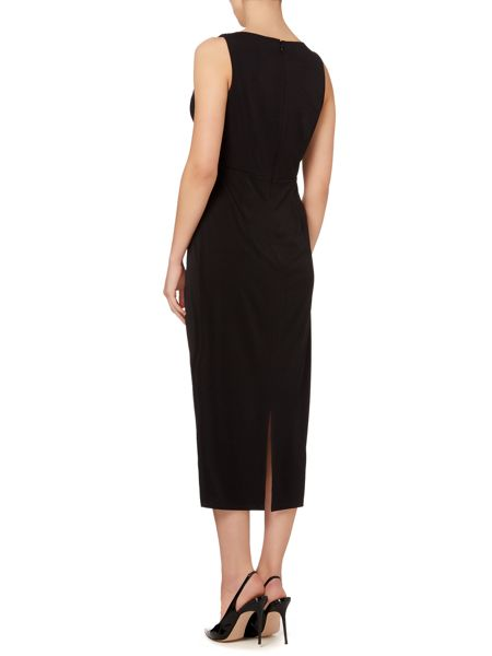 Linea Knot detail midi dress
