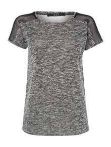 Oui T-shirt with sheer back