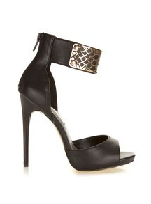 Chigwell Gold Trim High Sandal