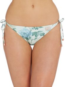Distinguished Rose tie-side bikini brief