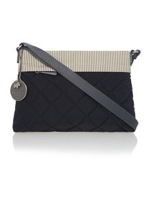 Claremont hill navy small crossbody bag