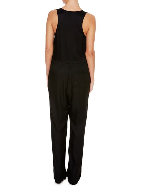 T by Alexander Wang Sleeveless button front jumpsuit