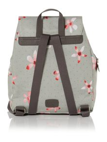 Cloudsley grey medium backpack