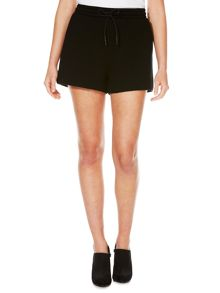 T by Alexander Wang Scuba shorts with metallic stripes