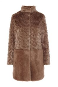 Metropolitan faux fur coat