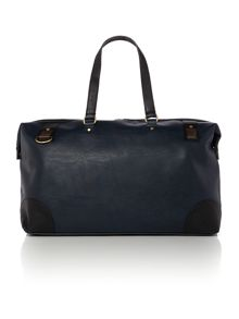 Tolapia contrast pocket holdall bag