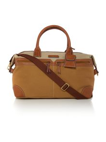 Justone colour block holdall bag