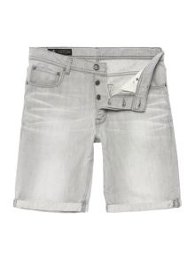 Eagle Washed Denim Short