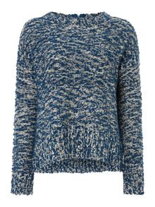 Hoss Intropia LONG SLEEVE KNIT JUMPER