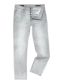 Everitt Taper Leg Washed Denim Jean