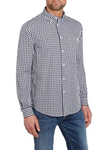 Armani Jeans Long Sleeve Check Shirt