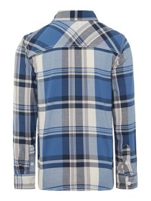 Boys Long Sleeved Check Shirt