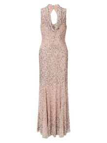 Greta sequin full length dress