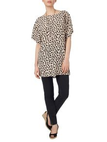 Phase Eight Lynne spot tunic